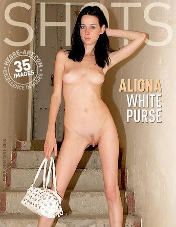 Aliona weiße Handtasche
