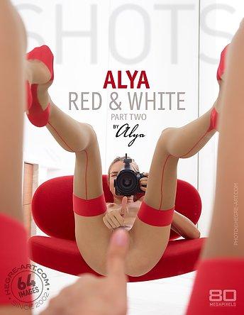 Alya red and white by Alya part2