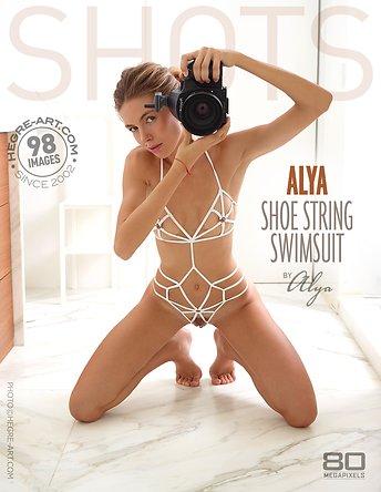 Alya shoe string swimsuit by Alya