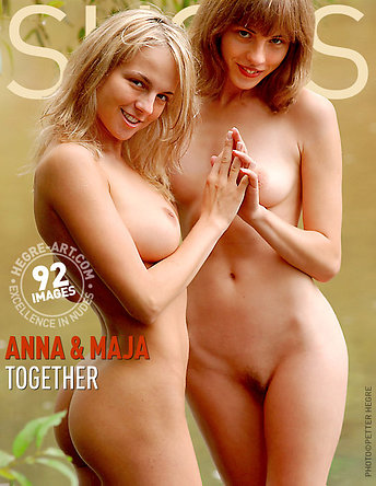 Anna and Maja together
