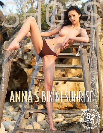 Anna S bikini sunrise