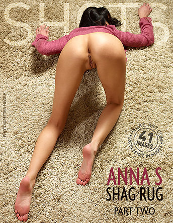 Anna S alfombra peluda parte2