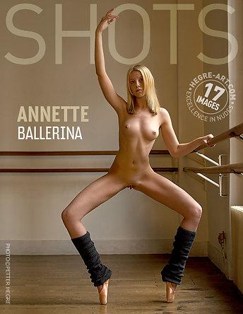 Annette bailarina