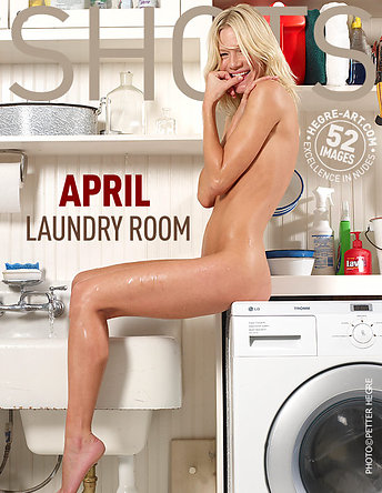 April laundry room
