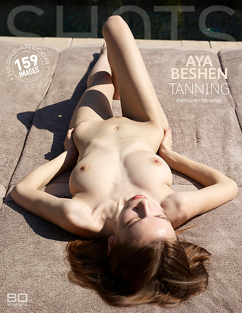 Aya Beshen tanning