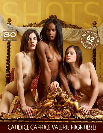 Candice Caprice Valerie Highnesses