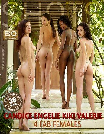 Candice Engelie Kiki Valerie 4 fabelhafte Frauen