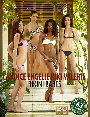 Candice Engelie Kiki Valerie Bikinibabes