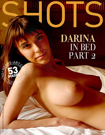 Darina in bed part 2
