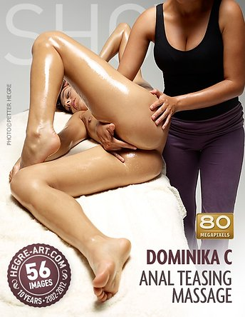 Dominika C massage anal taquin