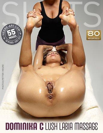 Dominika C massage labial luxuriant