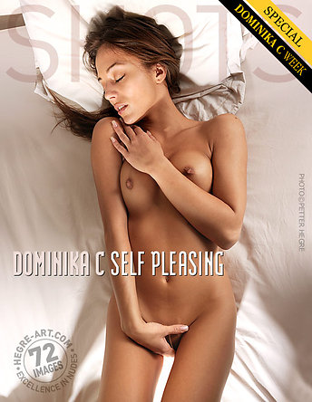 Dominika C self pleasing