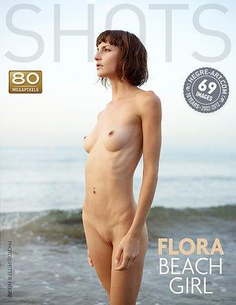 Flora beach girl