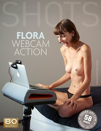 Flora action webcam