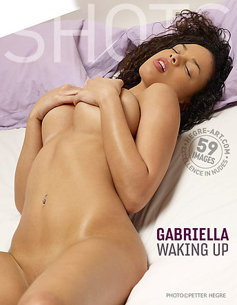 Gabriella waking up