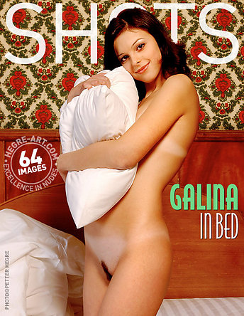 Galina in bed