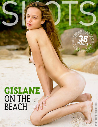 Gislane on the beach