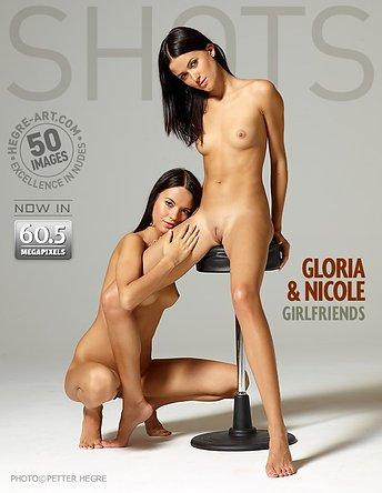 Gloria and Nicole girlfriends