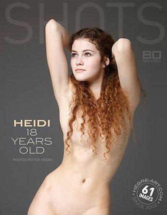 Heidi 18 years
