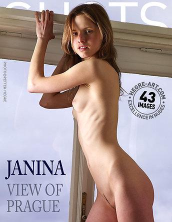 Janina Blick auf Prag