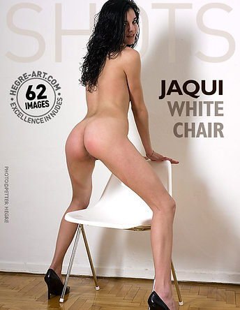 Jaqui chaise blanche