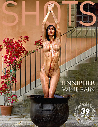 Jennipher lluvia de vino