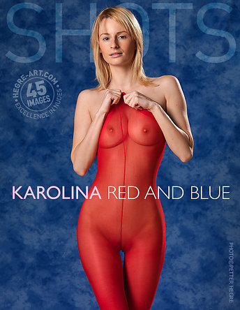 Karolina red and blue