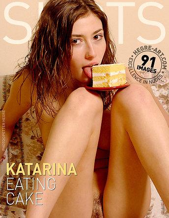 Katarina gateau en bouche
