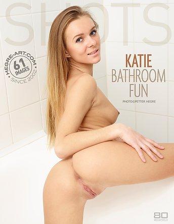 Katie bathroom fun