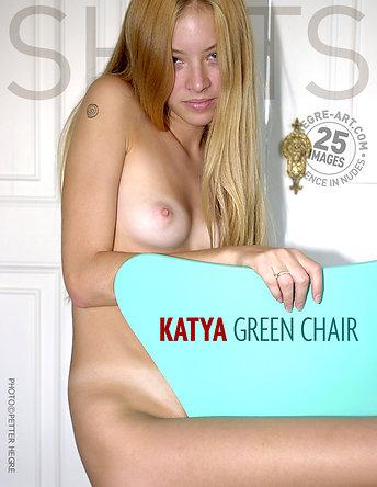Katya grüner Stuhl