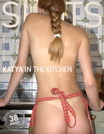Katya in der Küche