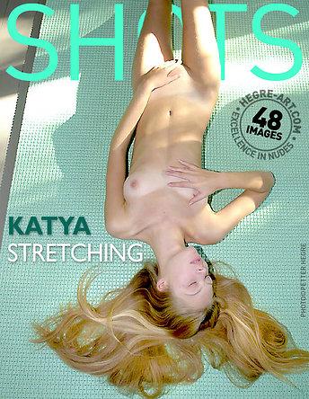 Katya estirándose