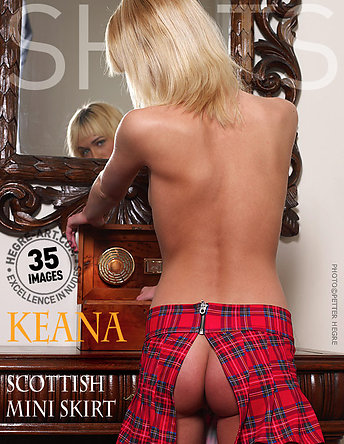 Keana Scottish mini skirt