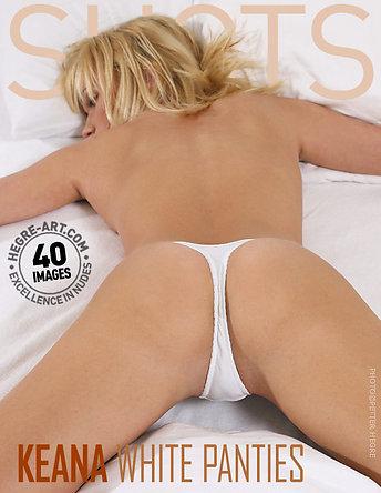 Keana white panties