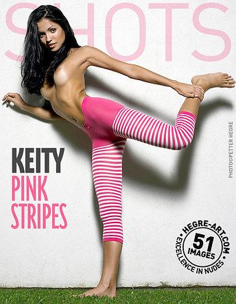 Keity pink stripes