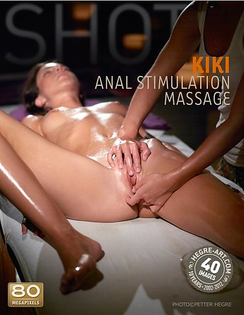 Kiki anal stimulation massage
