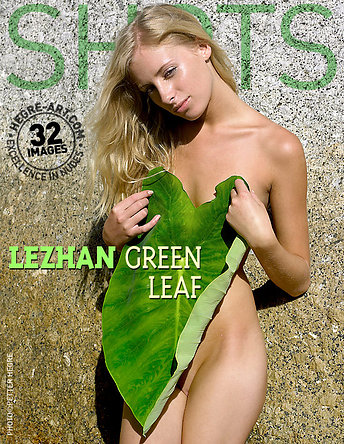 Lezhan feuille verte