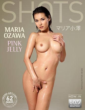 Maria Ozawa gelatina rosa