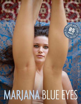 Marjana yeux bleus