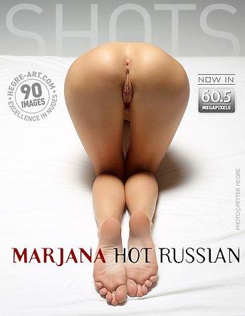 Marjana chaude Russe