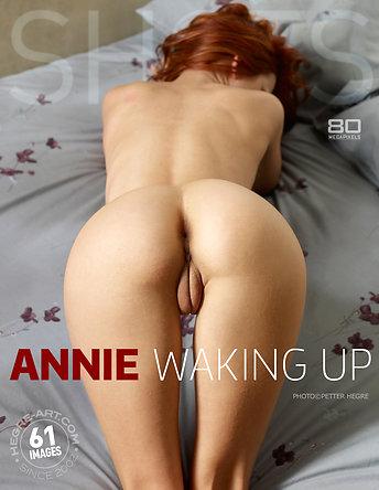 Marlene waking up