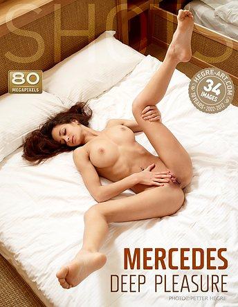 Mercedes tiefe Freude