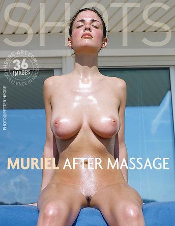 Muriel después del masaje