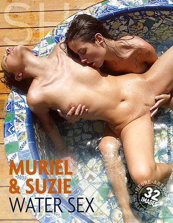 Muriel and Suzie water sex