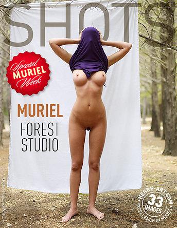 Muriel studio en forêt