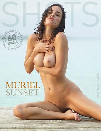 Muriel sunset