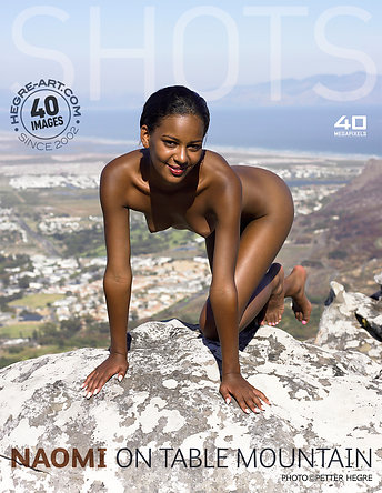 Naomi on table mountain