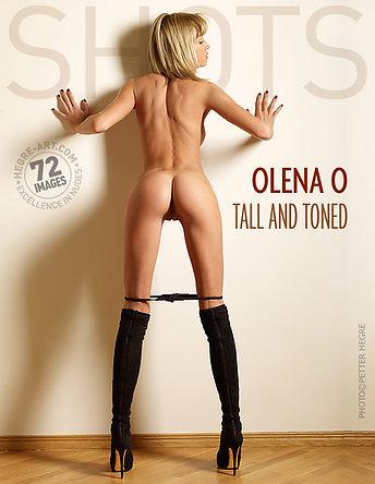 Olena O élancée et balancée