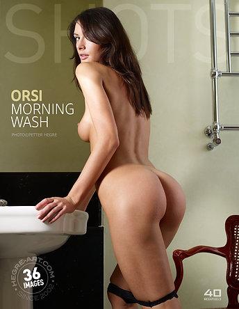 Orsi toilette matinale