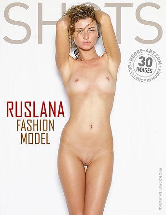 Ruslana modelo de moda